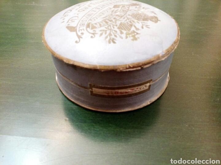 Antigüedades: Caja de Polvos higienicos J.Robillard y cia Valencia siglo XX - Foto 2 - 146431889