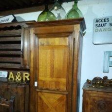 Antigüedades: ARMARIO FRANCÉS DE ROBLE. Lote 146436762
