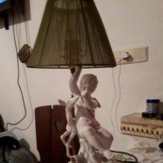 Antigüedades: LAMPARA PERALTA ÁNGEL DE CERÁMICA. Lote 146448222