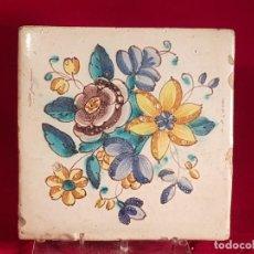 Antigüedades: AZULEJO GRANDE VALENCIA S XVIII. Lote 146484574