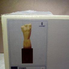 Antigüedades: BONITA FIGURA LLADRO - BUSTO TORSO DE MUJER . NUEVA EN SU CAJA - REF.01015985 . Lote 146495054