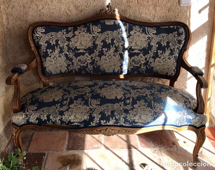 Antigüedades: Sillones Luises con diván - Foto 4 - 146390504