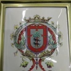 Antigüedades: ANTIGUO ESMALTE RARO ESCUDO VIZCAYA AÑOS 70 PAIS VASCO BUEN ESTADO BASQUE. Lote 146509588