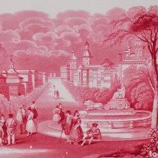 Antigüedades: W ADAMS & SONS, SERIE HABANA. GRAN FUENTE S. XIX. Lote 146512065