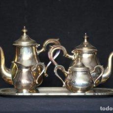 Antigüedades: JUEGO CAFÉ. Lote 146526146