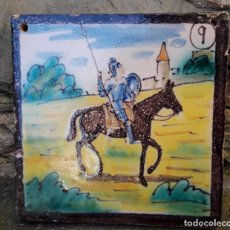 Antigüedades: AZULEJO CERAMICA TRIANA. Lote 146537770