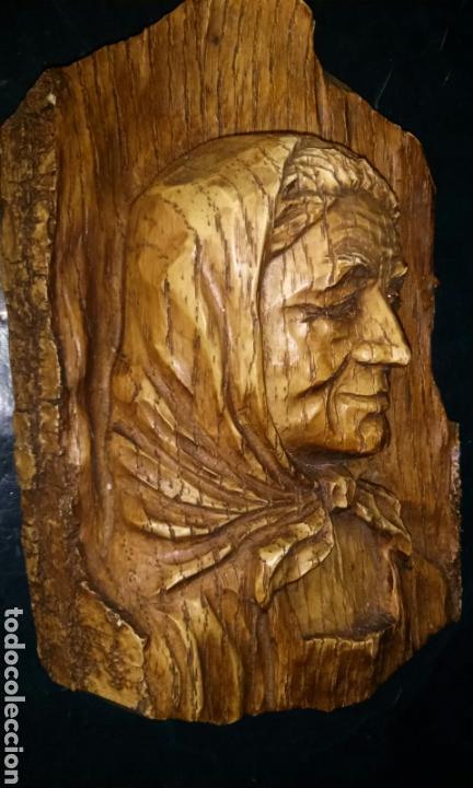 Antigüedades: Talla en madera maciza - Foto 2 - 146541422