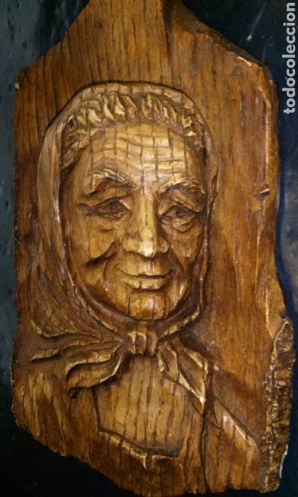 Antigüedades: Talla en madera maciza - Foto 3 - 146541422