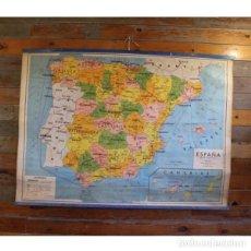 Antigüedades: ANTIGUO MAPA POLÍTICO DE ESPAÑA. Lote 146555954