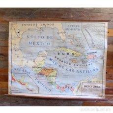 Antigüedades: ANTIGUO MAPA POLÍTICO DE AMÉRICA CENTRAL. Lote 146561726
