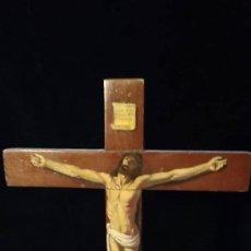 Antigüedades: CRISTO CRUCIFICADO. Lote 146570914