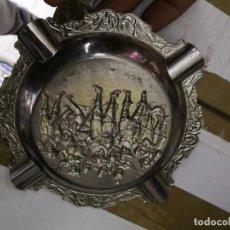Antigüedades: ANTIGUO CENICERO METALICO . Lote 146577978