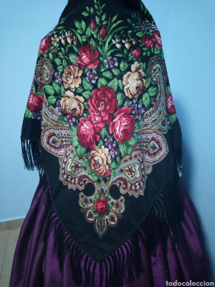PAÑUELO MANTON TIPO RUSO A ESTRENAR (Antigüedades - Moda y Complementos - Mujer)