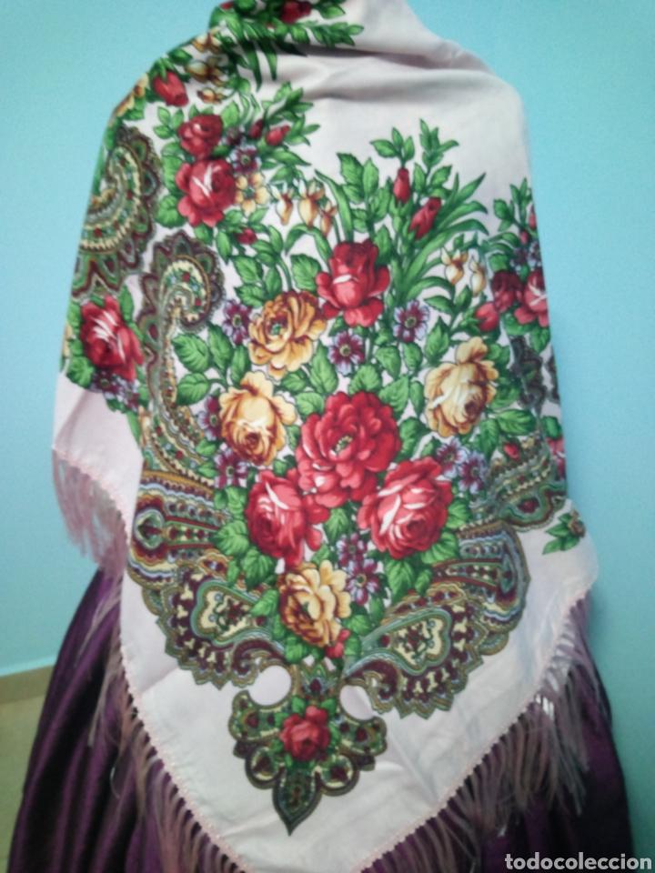 PAÑUELO TIPO RUSO A ESTRENAR (Antigüedades - Moda y Complementos - Mujer)