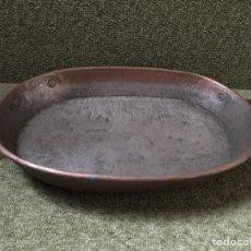 Antigüedades: FUENTE COBRE CON ASAS. Lote 146605326