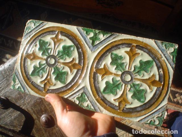 Antigüedades: antiguo azulejo xviii triana - Foto 4 - 146633698