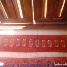 Antigüedades: ALFOMBRA DE REZAR PRECIOSA LANA Y SEDA PERFECTA PERSA BOUKHARA. Lote 146634450