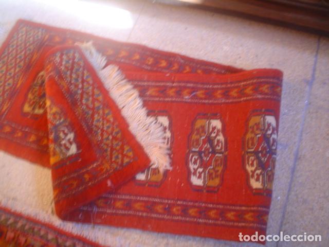 Antigüedades: alfombra de rezar preciosa lana y seda perfecta persa boukhara - Foto 2 - 146634450