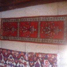 Antigüedades: ALFOMBRA DE REZAR PRECIOSA LANA Y SEDA PERFECTA PERSA. Lote 146634758