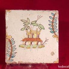 Antigüedades: AZULEJO GRANDE VALENCIA S XVIII. Lote 146638386