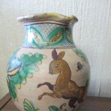 Antigüedades: JARRA CERÁMICA MANISES . Lote 146645154