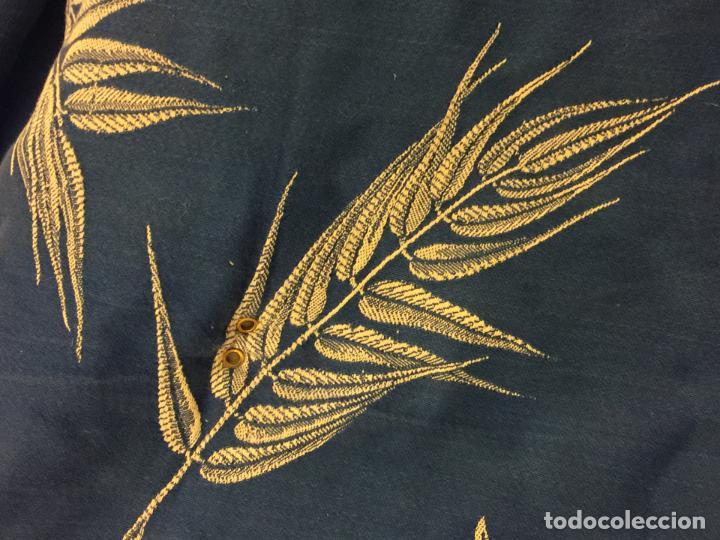 Antigüedades: Antigua TELA DE COLCHON, en algodon, CON PRECIOSO ESTAMPADO. ideal para tapizar,cojines... - Foto 3 - 146654370