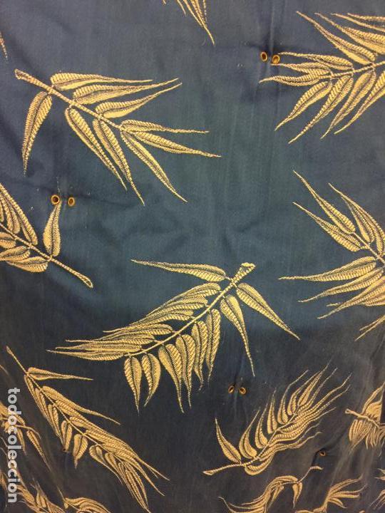 Antigüedades: Antigua TELA DE COLCHON, en algodon, CON PRECIOSO ESTAMPADO. ideal para tapizar,cojines... - Foto 6 - 146654370
