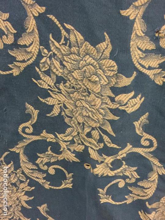 Antigüedades: Antigua TELA DE COLCHON, en algodon, CON PRECIOSO ESTAMPADO. ideal para tapizar,cojines... - Foto 2 - 146654466
