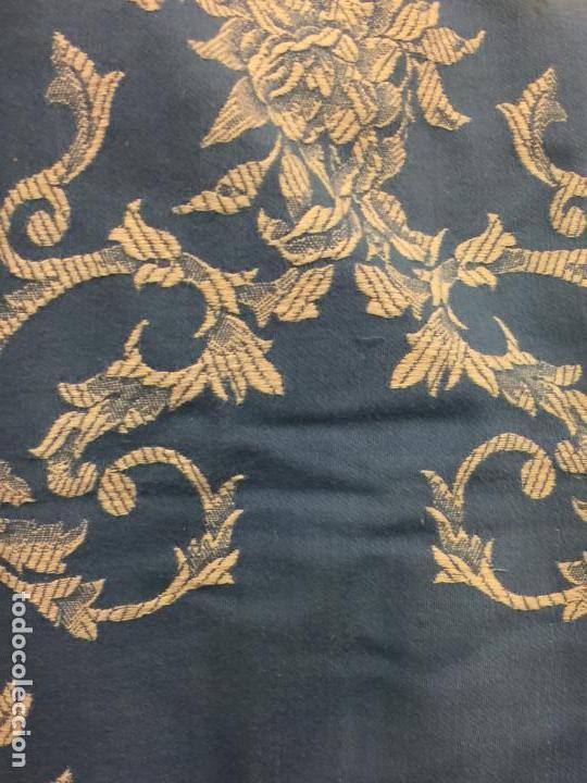 Antigüedades: Antigua TELA DE COLCHON, en algodon, CON PRECIOSO ESTAMPADO. ideal para tapizar,cojines... - Foto 3 - 146654466