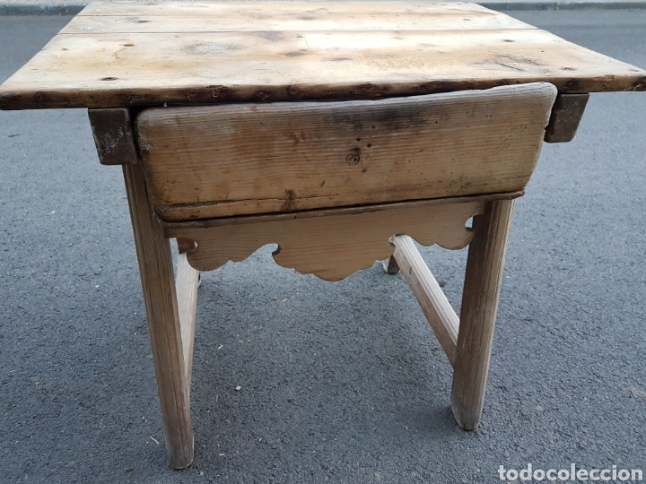 bonita pequeña mesa cocinera cocina - Comprar Mesas Antiguas en ...