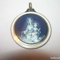 Antigüedades: ANTIGUA MEDALLA DE PLATA....CON CONTRASTES.. Lote 146658262