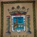 Antigüedades: REPOSTERO TAPIZ DE BILBAO DE TAPICES ELECCIÓN (77X68CM). Lote 146675274