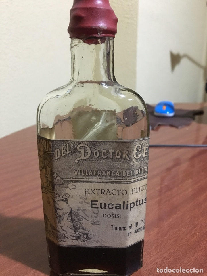 Antigüedades: Laboratorio doctor Cela bote frasco farmacia - Foto 4 - 146700105