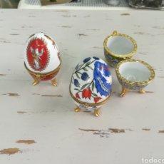 Antigüedades - Huevos joyero porcelana - 146706898