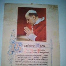Antigüedades: BENDICIÓN APOSTÓLICA 1956. Lote 146713060