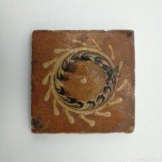 Antigüedades: RARO AZULEJO SIGLO XIX. Lote 146745174