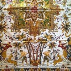 Antigüedades: NUEVA SIN USAR-TELA DE HILO,IDEAL PARA CUBRESOFA,COJINES O TAPICERIA. Lote 146761270