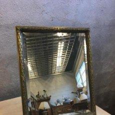 Antigüedades: ESPEJO BRONCE SIGLO XIX. Lote 146776974