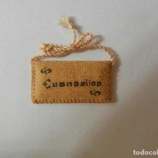 Antigüedades: ESCAPULARIO MEDALLA EVANGELIOS. 4 CM . Lote 146787926
