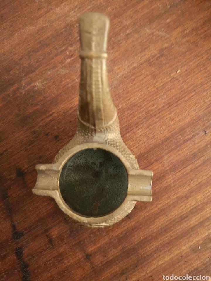 Antigüedades: ANTIGUO CENICERO EN FORMA DE PIPA - Foto 3 - 146788068
