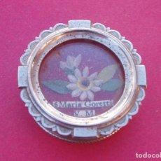 Antigüedades: RELICARIO ANTIGUO SANTA MARÍA GORETTI. ORDEN PASIONISTA.. Lote 162044844