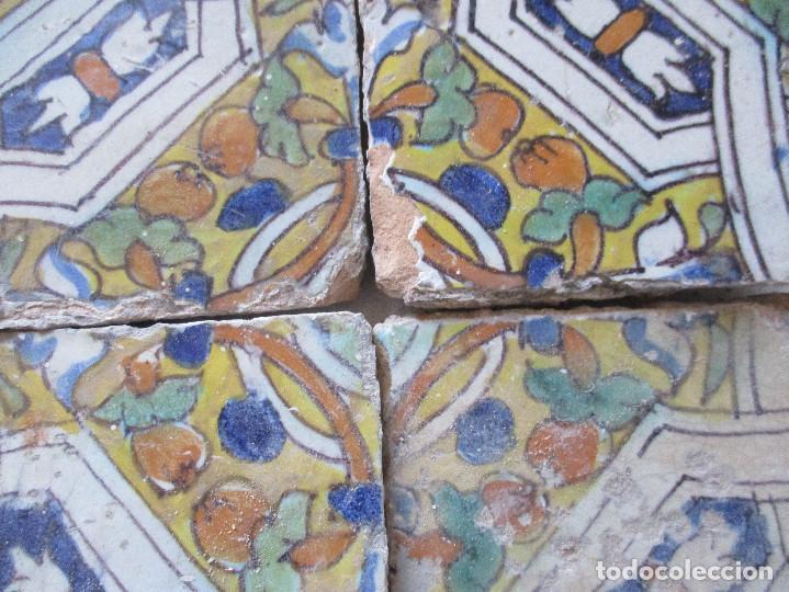 Antigüedades: Azulejos del siglo XVI (Triana) - Foto 2 - 146809630