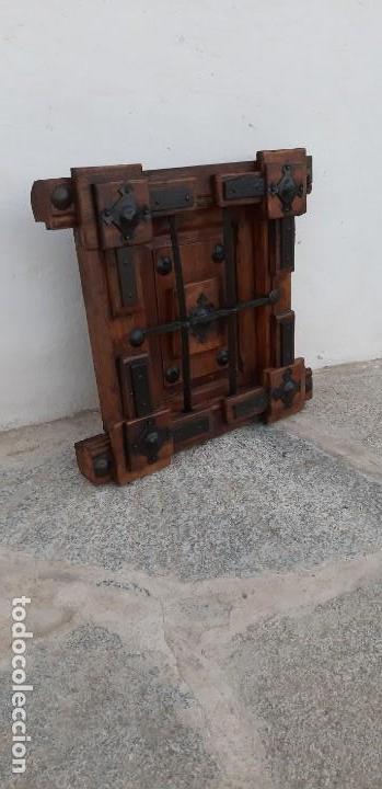 Antigüedades: Reja de madera y forja - Foto 2 - 146825178