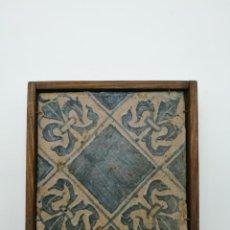 Antigüedades: AZULEJO GÓTICO XV XVI. Lote 146830958
