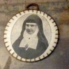 Antigüedades: RELIQUIA BEATA RAFAELA MARIA DEL S. CORAZÓN. Lote 146840318