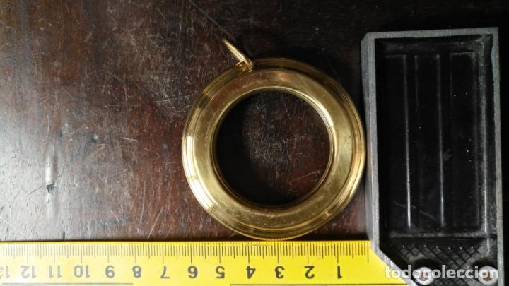 Antigüedades: 10 anillas de cortinas - nunca usadas, buen estado - metal cortinero DECORACION - DORADAS - ARGOLLAS - Foto 6 - 175563977