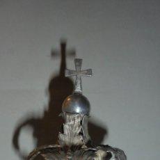 Antigüedades: ANTIGUA CORONA DE PLATA S. XIX 9,5 CM. ALTURA BASE 4 CM. BUEN ESTADO . Lote 146850246