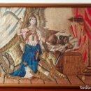 Antigüedades: BORDADO DEL SIGLO XIX FRANCÉS. JUDITH Y HOLOFERNES.. Lote 146853146