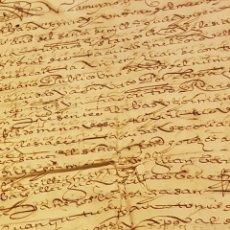 Antigüedades: DOCUMENTOS DE 1504. Lote 146859398