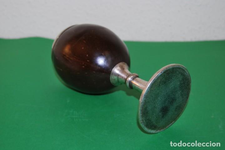 Antigüedades: PRECIOSA COPA DE PLATA Y COCO - SELLADA - INGLATERRA - FINALES SIGLO XIX - Foto 8 - 146863550